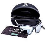 MSA Instinct I-Wear- Z2 Light Silver Mirror Lens, Black Frame - www.occmatters.com.au