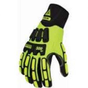 Hi Vis Mechanic Gloves